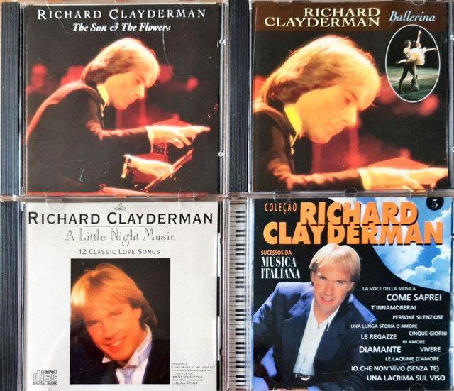 CDs RICHARD CLAYDEMAN originais - Foto 3