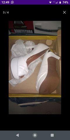 Sapato noiva Branco - Foto 3