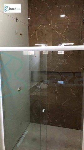 Casa com 3 dormitórios à venda, 148 m² por R$ 759.000,00 - Residencial Aquarela Das Artes  - Foto 13