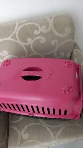 Caixa transporte N°2 para Cães e Gatos - Foto 3