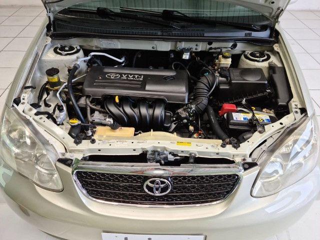 Toyota Corolla XLI 1.6 2008 automático - Foto 12