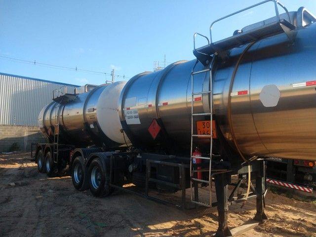 Bitrem tanque inox impecável Aceito caminhonete diesel no negócio - Foto 2
