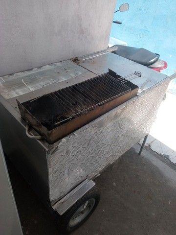 carro de churrasco - Foto 2