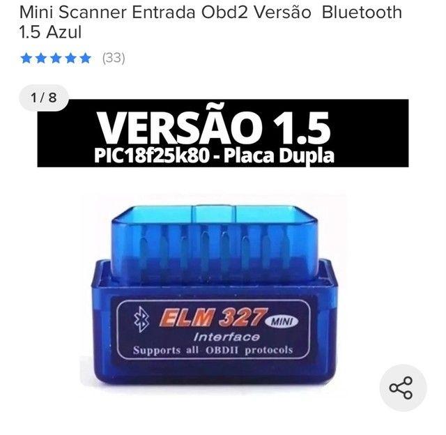 Escâner veicular versão 1.5 placa dupla  - Foto 3