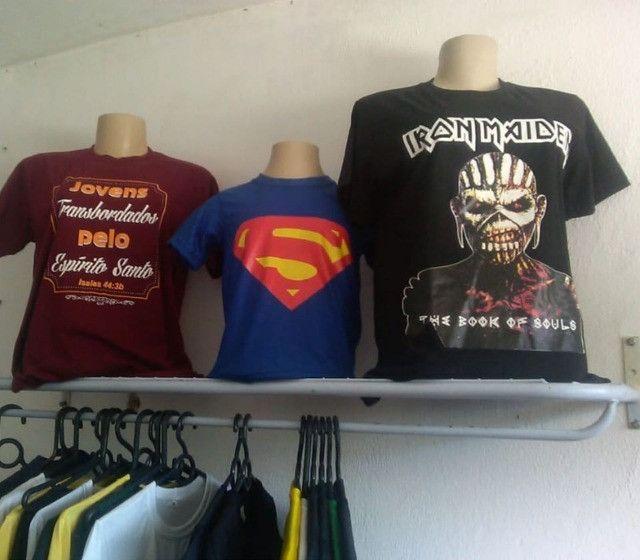 Camisetas personalizadas / Fardamentos / criação de Artes
