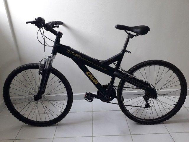 Bicicleta Caloi T Type Alumínio  - Foto 6