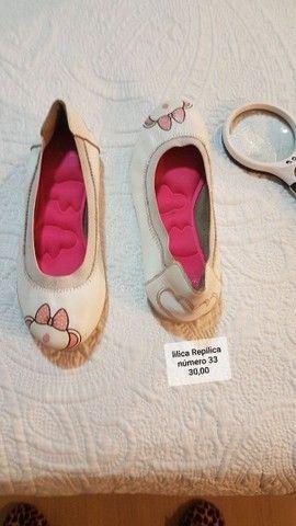 lindos sapatos de marca  menina de várias numeração  - Foto 4
