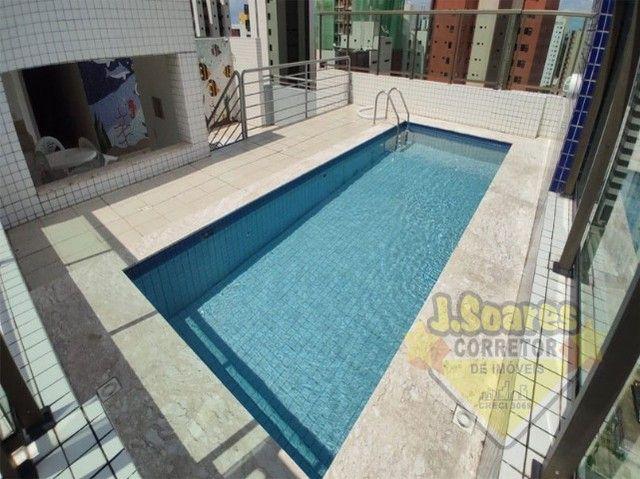 Tambaú, 3 quartos, 2 suítes, 100m², R$ 1.800, Aluguel, Apartamento, João Pessoa - Foto 17