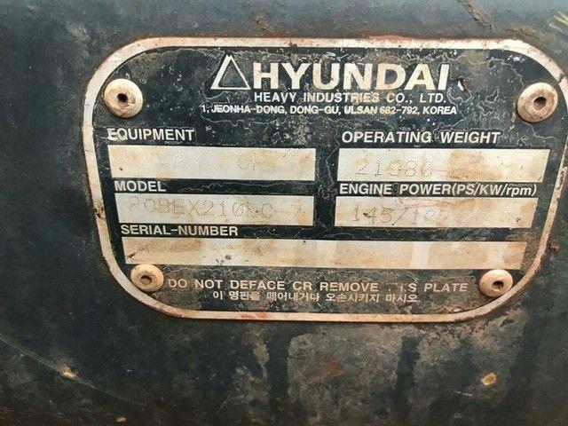 Vendo Hyundai 210LC-7  - Foto 5