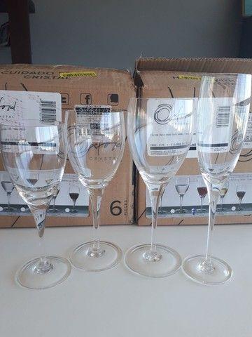 Taças em cristal oxford