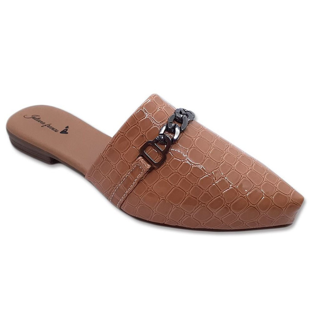 Mule Feminino Sapato Sapatilha Sandália  Confortável Casual