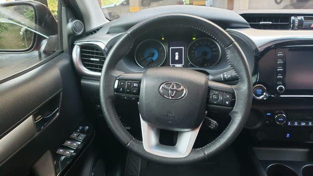 Toyota Hilux SRV 4X2 - Flex + GVN - Foto 6
