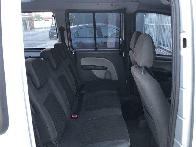 Fiat Doblò Essence 1.8 7 lugares 2012 completa Extra!!  - Foto 12