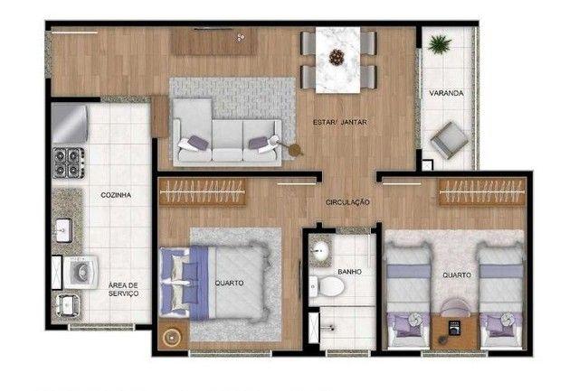 Apartamento à venda, 47 m² por R$ 170.000,00 - Cidade Satélite - Natal/RN - Foto 10