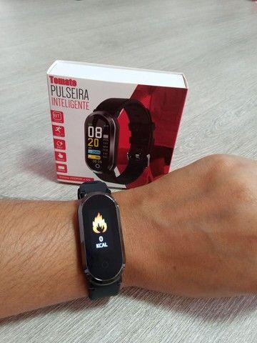 Relógio Smartwatch Tomate Bluetooth MTR-33 Preto