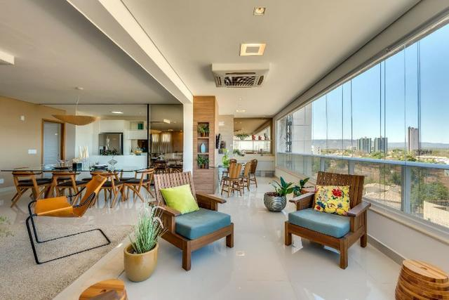Apartamento 4 Suítes, 206 à 293 m² na 204 Sul - Residência Opus - Plano Rural - Foto 14