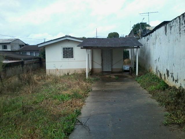 Terreno com casa Campina da Barra Araucária - Foto 2