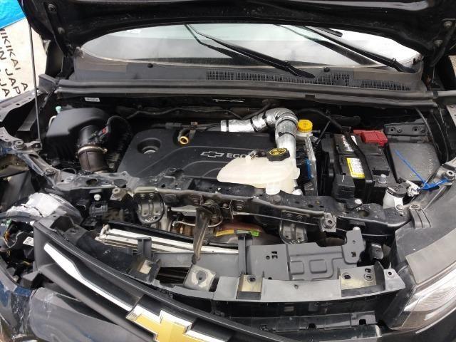 Sucata Tracker LTZ 1.4 Turbo Flex 17/18 Chevrolet Para Retirada de peças - Foto 10