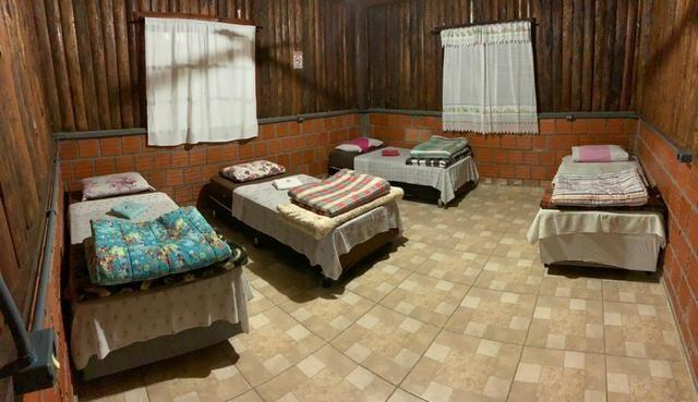 Chácara com Duas Casas rústicas (6 quartos), lado do Rio Palmital - Foto 20