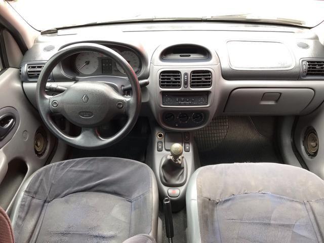 Clio sedan 2003 1.6 RT completo - Foto 14