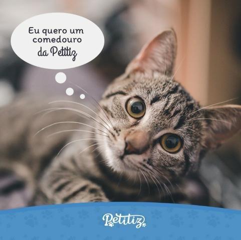 Comedouro para Gatos - Vermelho - Foto 6