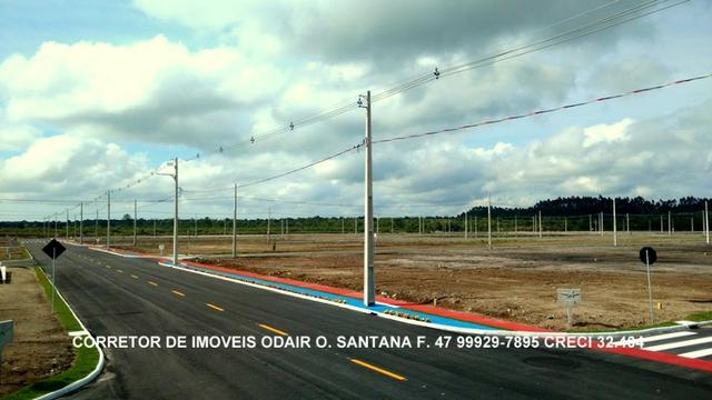 Lotes Prontos Para Construir Parcelas 650 Reais Direto Sem Entrada Araquari - Foto 7