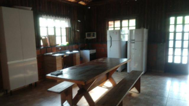 Chácara com Duas Casas rústicas (6 quartos), lado do Rio Palmital - Foto 9