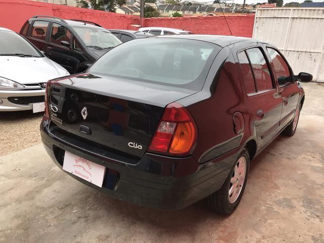 Clio sedan 2003 1.6 RT completo - Foto 12