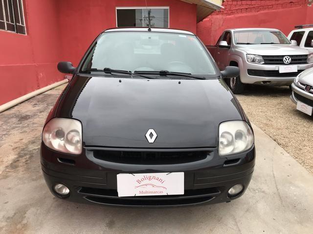 Clio sedan 2003 1.6 RT completo - Foto 10
