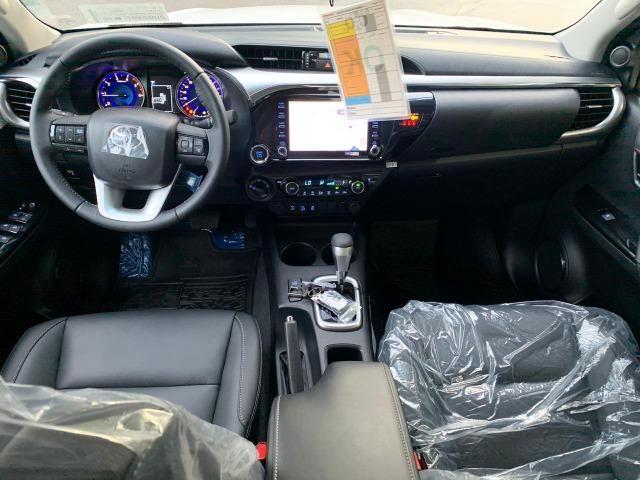 Hilux SRV 2.8 Branca 4X4 Diesel 2020 0KM - Foto 10