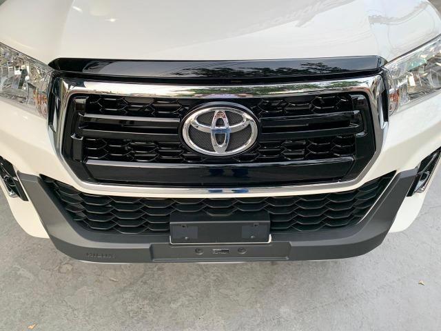 Hilux SRV 2.8 Branca 4X4 Diesel 2020 0KM - Foto 8