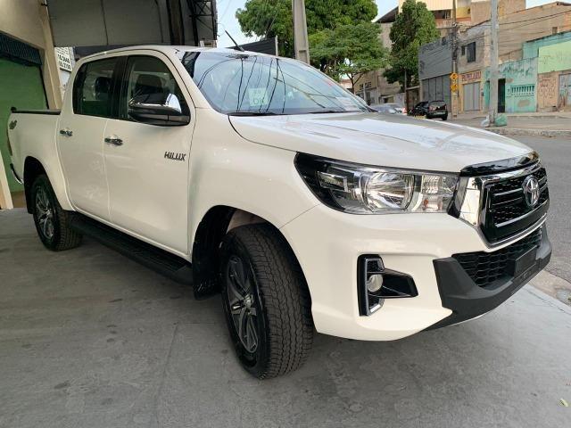Hilux SRV 2.8 Branca 4X4 Diesel 2020 0KM - Foto 4