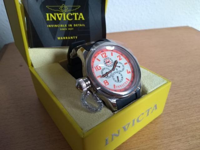 d6b3ff20788 Relógio Invicta Original Novo importado aceito troca passo cartão ...