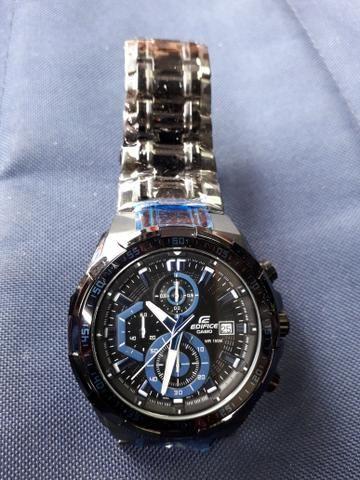 d7b8696b8fd Relógio Casio Edifice Preto - Bijouterias