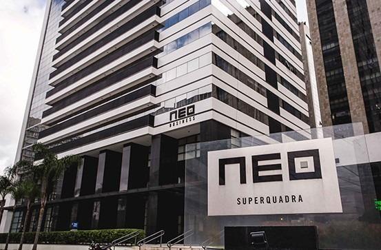Studio Mobiliado c/ vaga de garagem no Ed Neo Superquadra - Foto 18