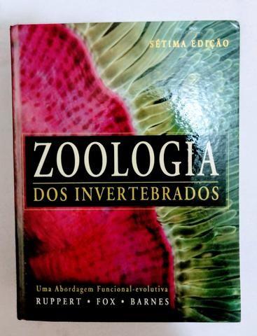 livro zoologia dos invertebrados