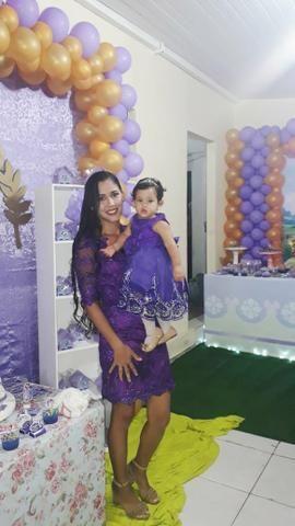 Vestido mãe e filha de festa