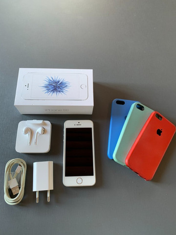 Vendo Iphone 5SE ? 64 GB ? tudo original