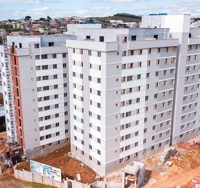 Apartamento de 2 quartos com área de lazer completa no Realeza - Obras muito avançadas - Foto 2