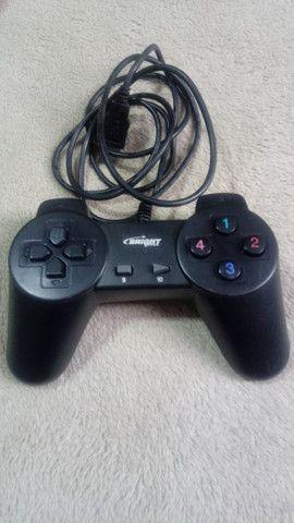 Controle USB para Wii ou PC (Bright) - Funcionando