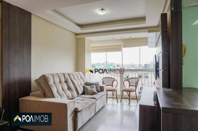 Apartamento com 2 dormitórios para alugar, 60 m² por R$ 2.652,00/mês - Cristo Redentor - P - Foto 5