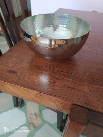 4 potes decorativos de aço inox - Foto 4