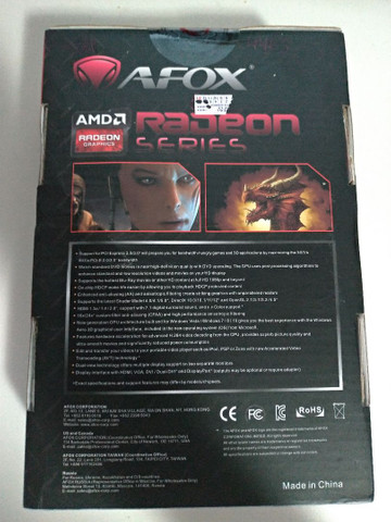 Placa de vídeo Afox Radeon RX550 4GB AMD  - Foto 2