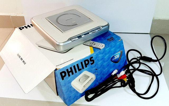 Dvd Philips Dvp320 - Sem Controle Mas Totalmente Conservado