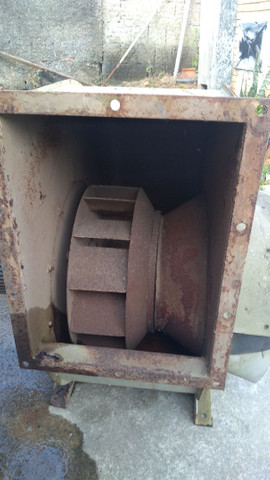 Exaustor Centrífugo Industrial Motor 5cv Trifásico - Foto 2