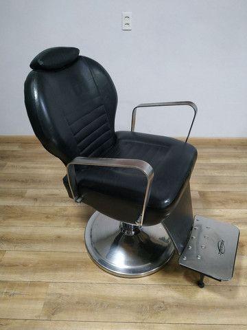 Cadeira Barbeiro Prismec Lord  - Foto 2
