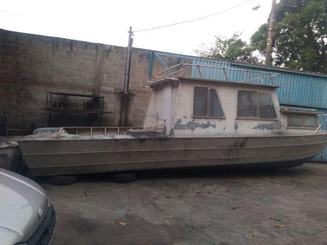Barco cabinado de 28 pés R$ 35.600,00 - Foto 3
