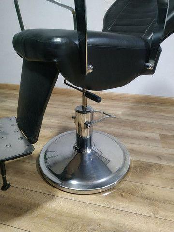 Cadeira Barbeiro Prismec Lord  - Foto 6