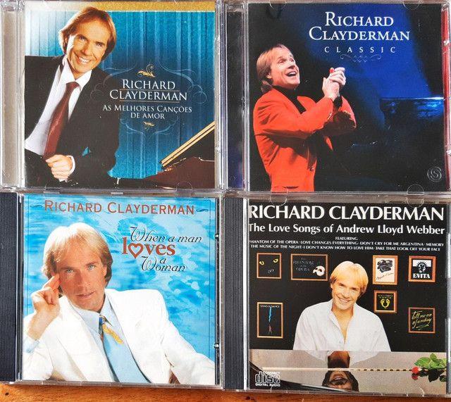 CDs RICHARD CLAYDEMAN originais - Foto 2