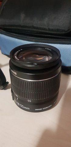 Camera Canon EOS Rebel T3 - Ler descrição - Foto 2